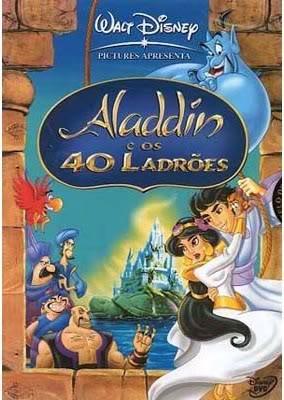 Filme Aladdin e Os 40 Ladrões   Dublado