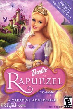Barbie Rapunzel   Dublado