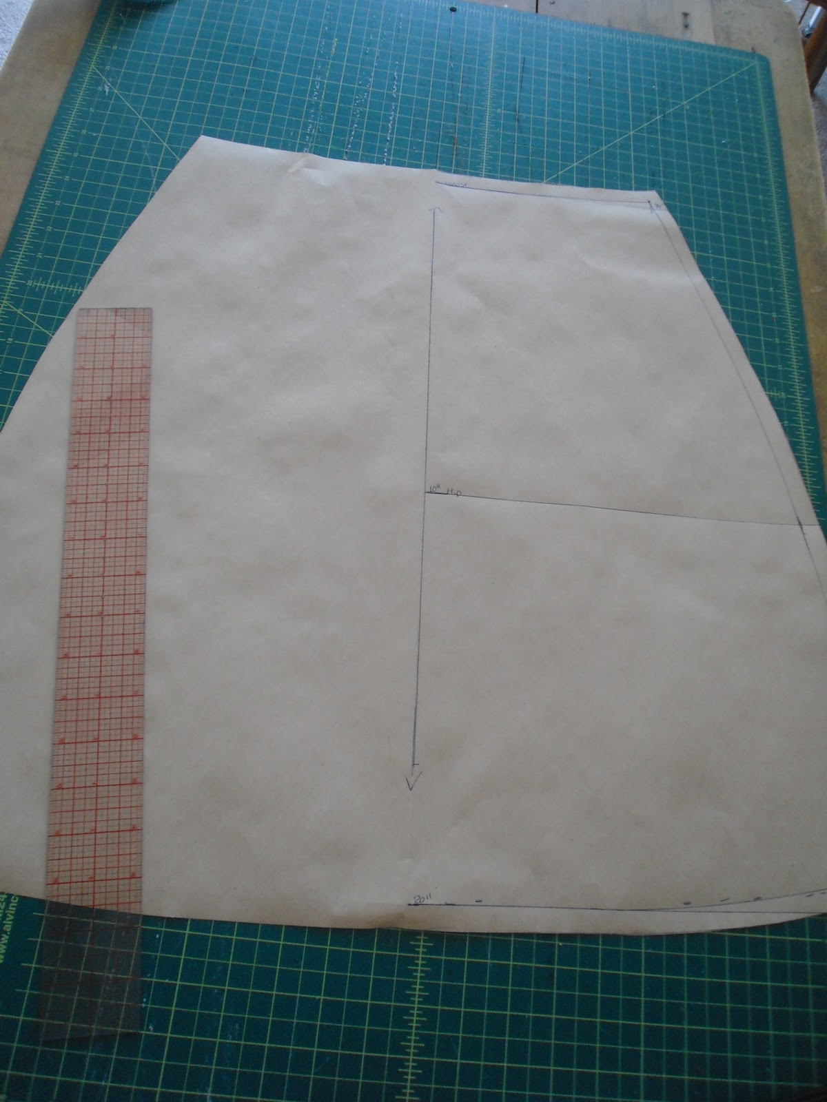 the cordelia files how to draft an a line skirt from
