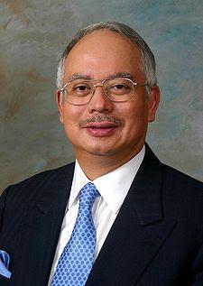 DATO' SERI MOHD NAJIB BIN TUN HAJI ABDUL RAZAK | PERDANA MENTERI MALAYSIA KE-6