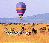 Ballon Safaris at the Maasai Mara