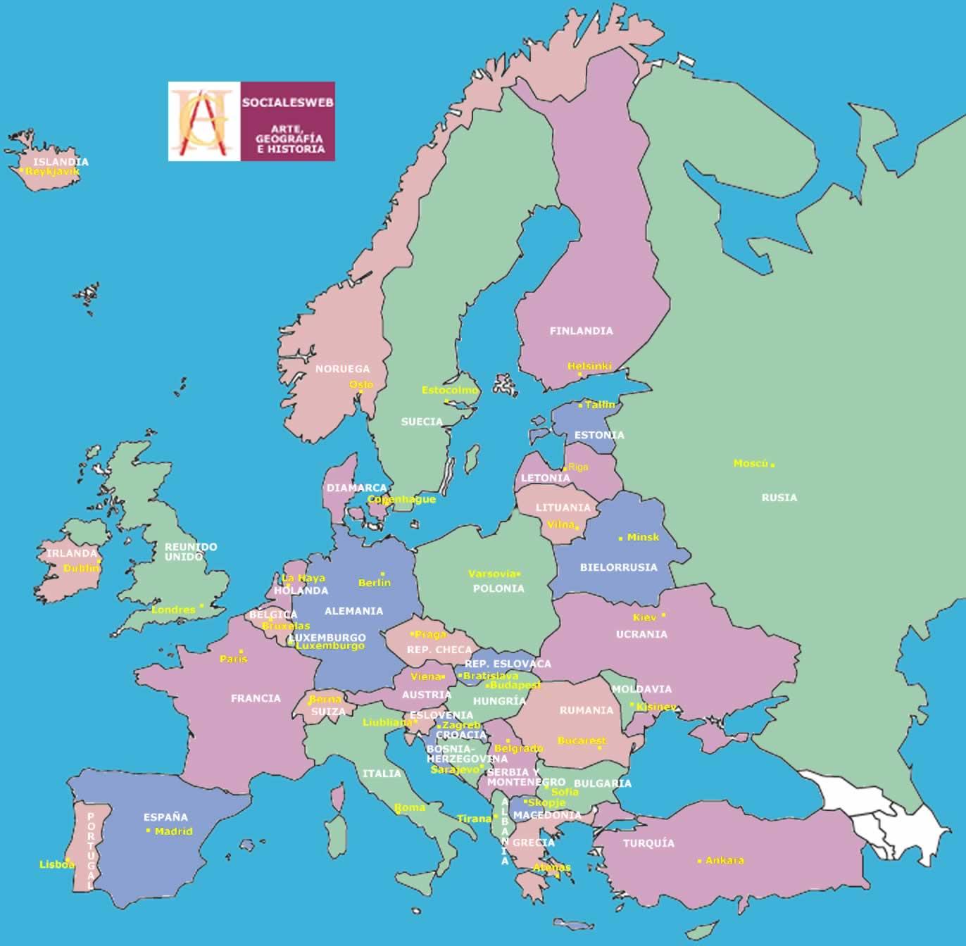 la situacion en europa: