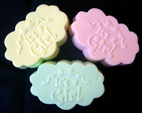 It's A Girl Mold Market Soap Mold