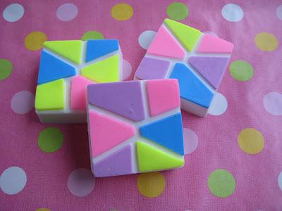 Mold Market Mosaic Soap Mold