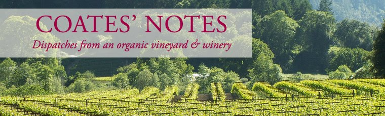 COATES VINEYARDS NOTES