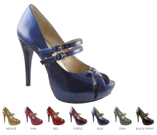One Inch Heels Shoes Cheap