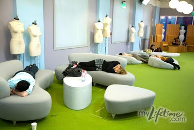 Project Runway Designers Tired Sleep Bored