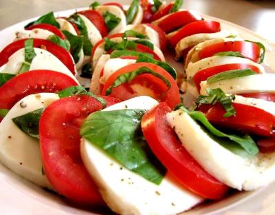 Ensalada Capresa. Fuente: http://quecocino.com/ensalada_caprese