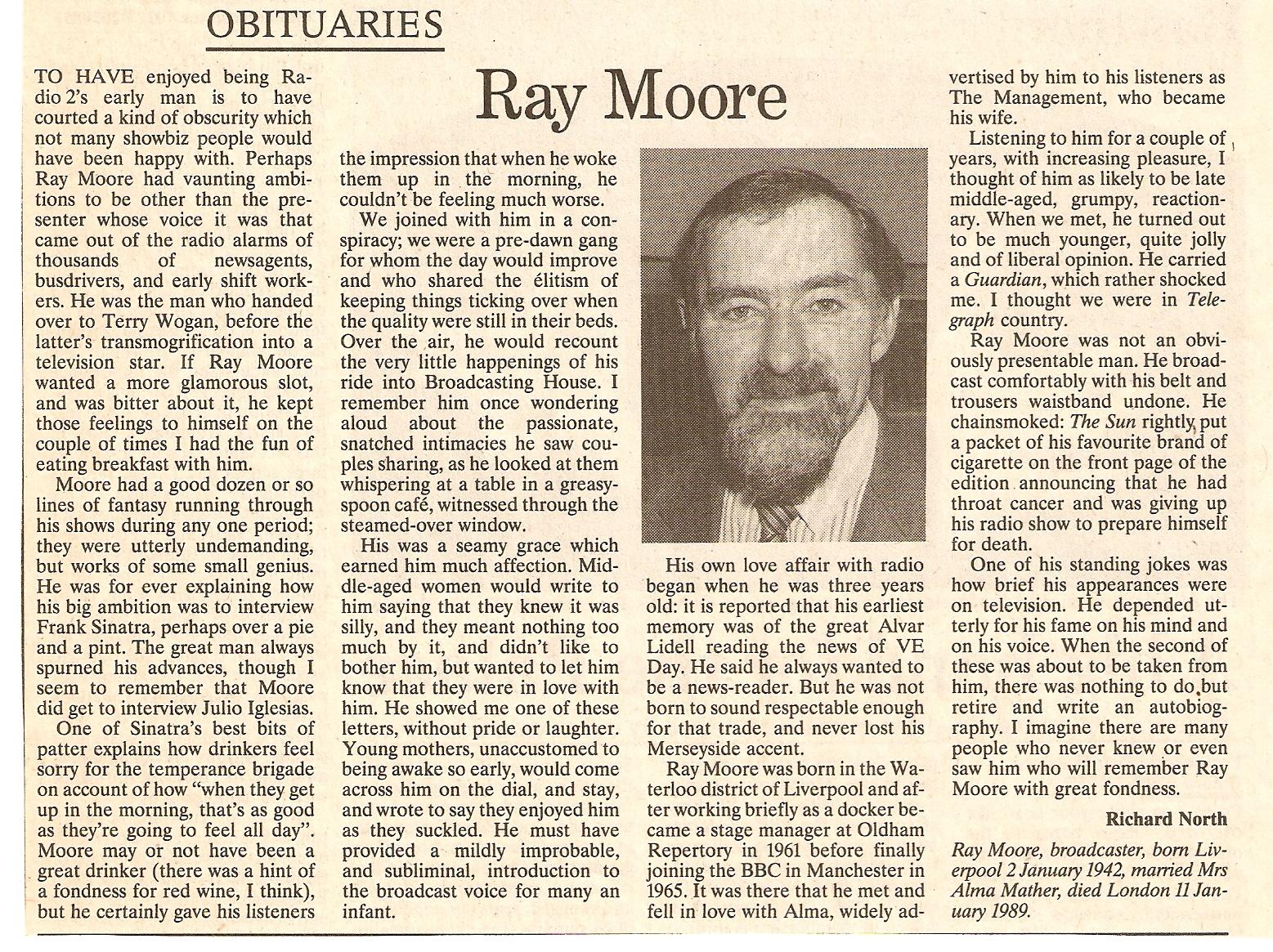 Ray Moore net worth salary