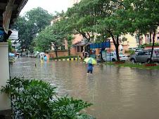 Kelapa Gading banjir lagi 2008