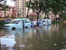 Kelapa Gading  banjir 2009