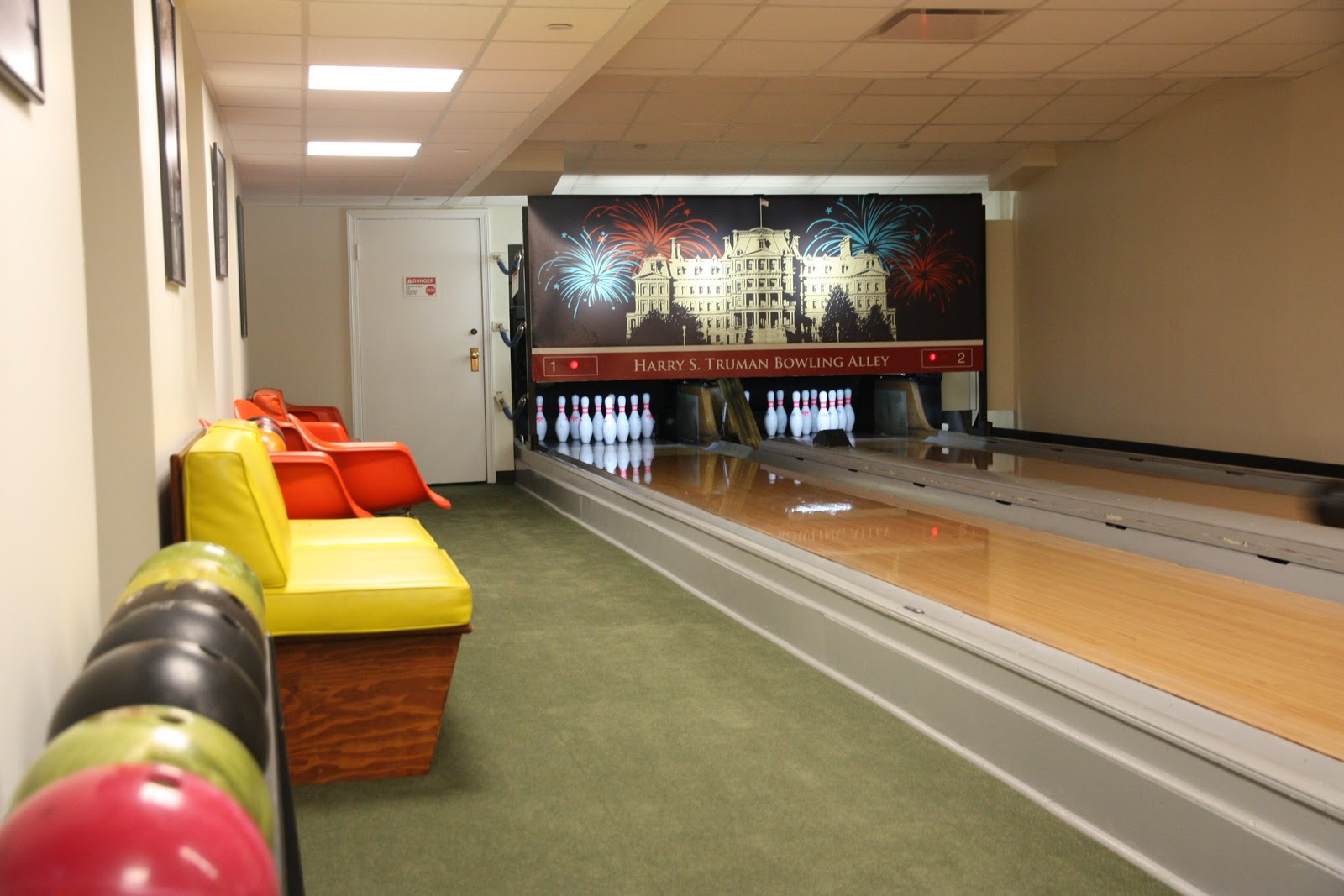 white house ditches bowling alley renovations
