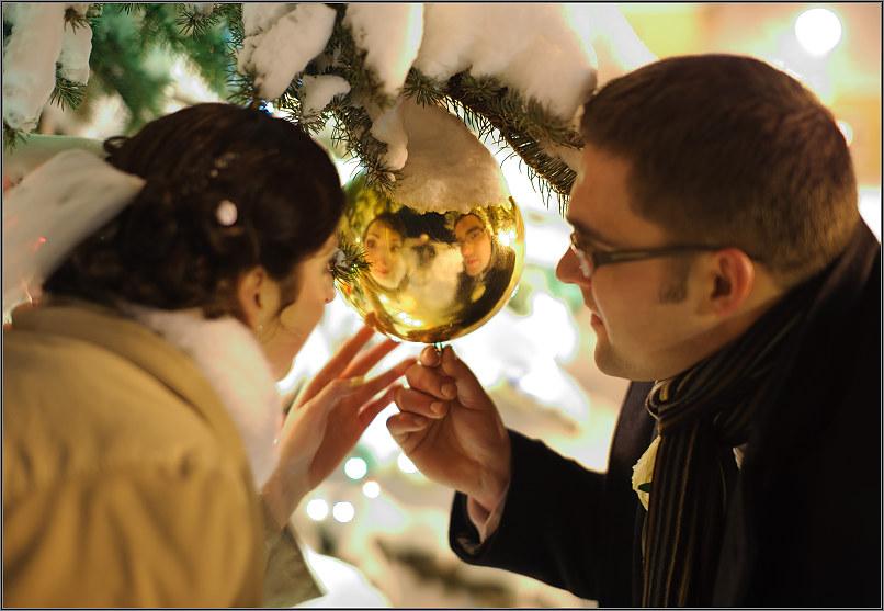 žiemos vestuvių fotosesija