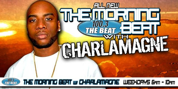 Charlamagne tha God and The Morning Beat on 100.3