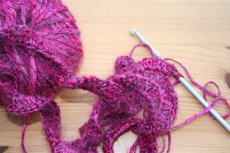 driftwood: spiral crochet scarf tutorial