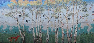 Silver Birches, by Mayo artist John McNulty