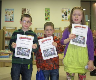 The Kennedy Family who completed the Summer Reading Challenge at Scariff Library