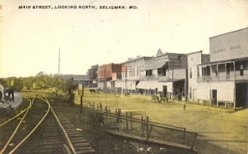 Seligman, MO - Post Card