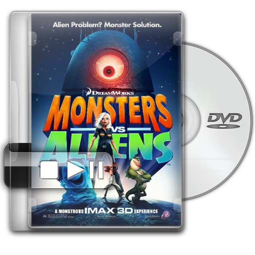 Monstruos vs. Aliens (DVDRip)(Espa&ntilde;ol Latino)(2009)