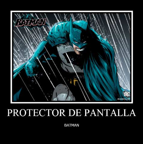 Protector de Pantalla Batman