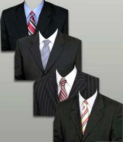 Suits (trajes) para Photoshop