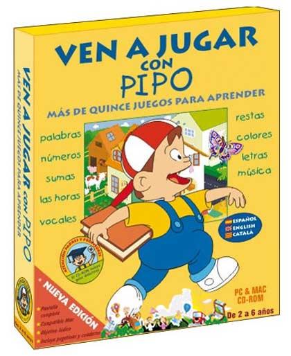 Ven a Jugar con Pipo - Más de 15 Juegos para Aprender