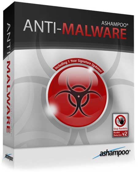 Ashampoo Anti-Malware v1.2.1 (Multilenguaje)