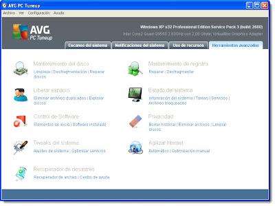 Avg PC Tuneup 2011 10.0.0.26 [Portable] [10.7Mb] » Descarga todo lo