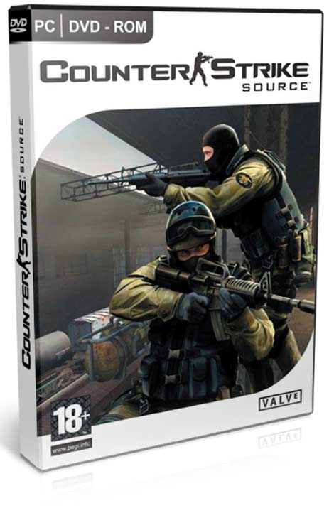 Counter Strike Source (PC-GAME) (DVD) Español) (Onilne)(2010)