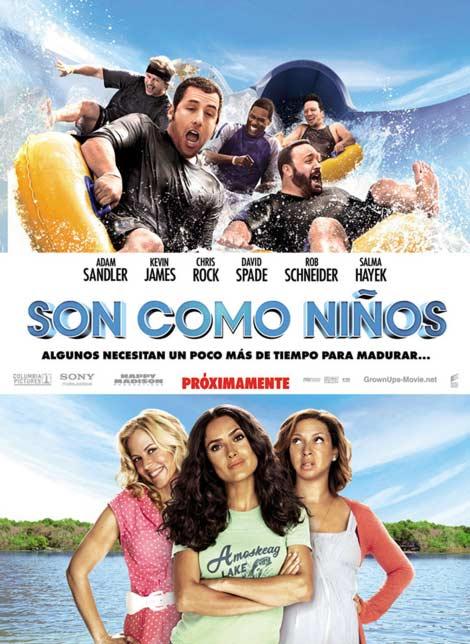 Son Como Niños (Español Latino) (DVDRip) (2010)