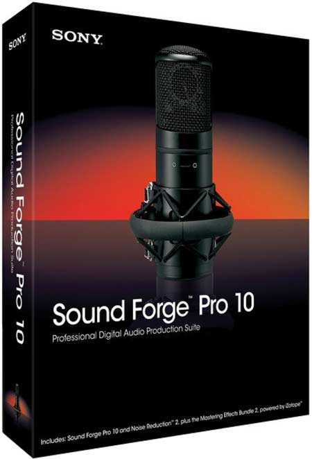 Sony Sound Forge Pro v10.0c (Build 491)