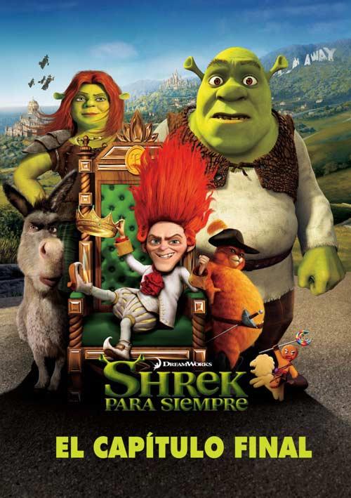 Shrek 1 2 3 y 4 DVDRip Español Latino