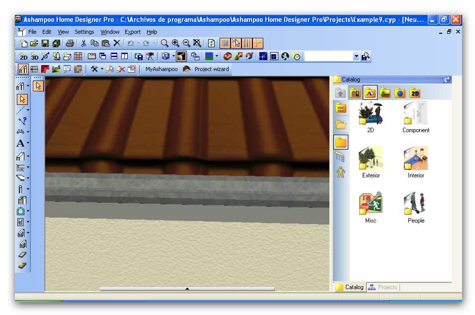 Ashampoo home designer pro v1 0 poderoso dise ador de - Disenador de casas ...