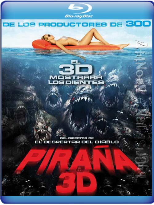 Piranha (Piraña 3D) (Español Latino) (BRrip) (2010)