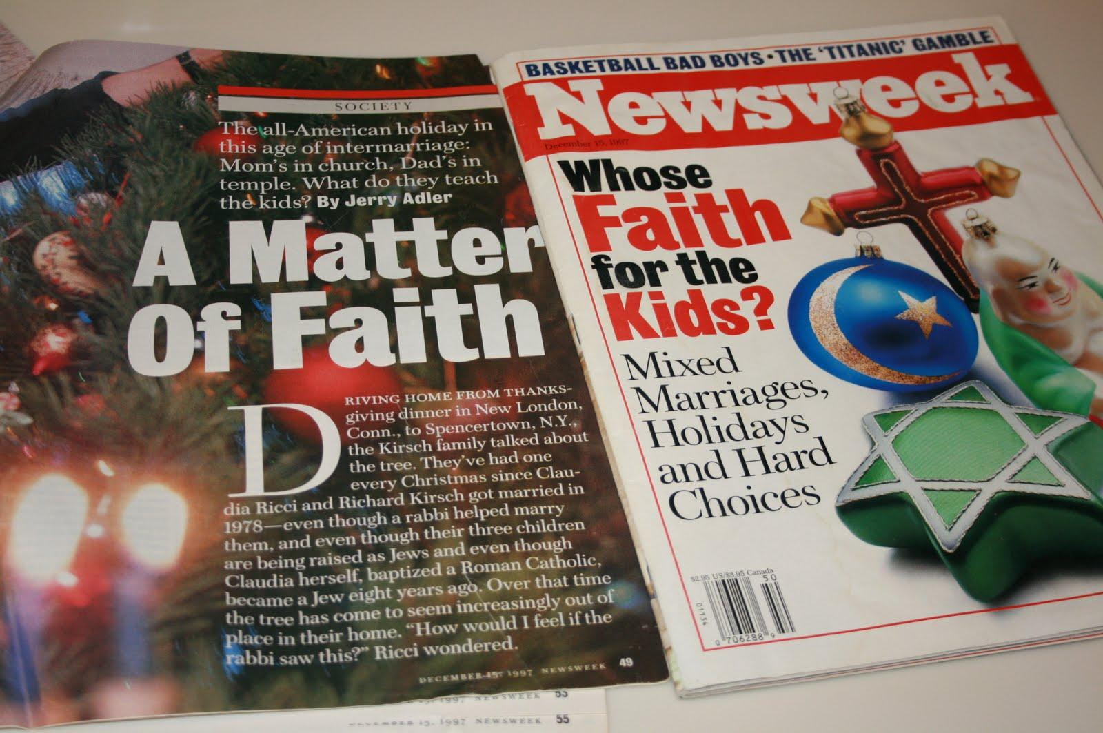 newsweek my turn essay