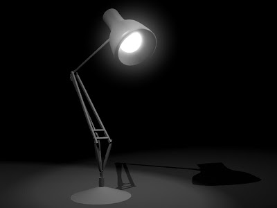 pixar lamp. I mean, clearly the Pixar lamp