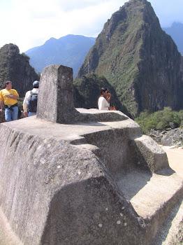 le centre astronomique des Incas au machu Pichu