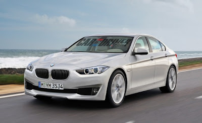 2013 BMW 3 series Rendered