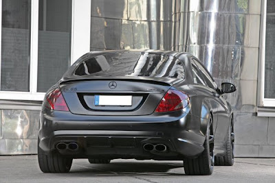 Mercedes Benz Amg Black Edition. Mercedes-Benz CL65 AMG Black