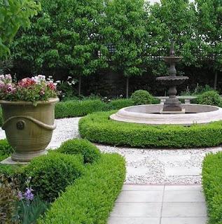 White Floors Formal Gardens