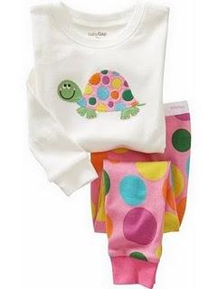 Gap Pyjamas (Pink Turtle)