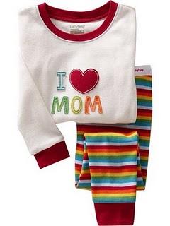 Gap Pyjamas (I Love MOM)