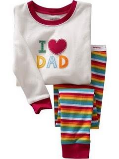 Gap Pyjamas (I Love DAD)