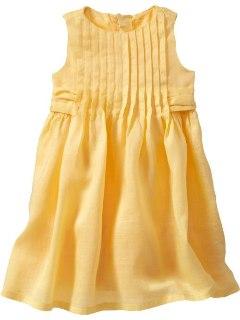 Gap Dress (Yellow)