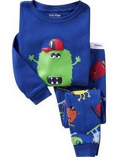Gap Pyjamas (Monster)