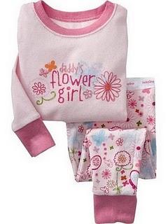 Gap Pyjamas (Daddy's Flower Girl)