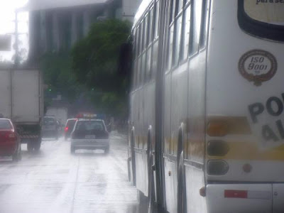 hujan di kota
