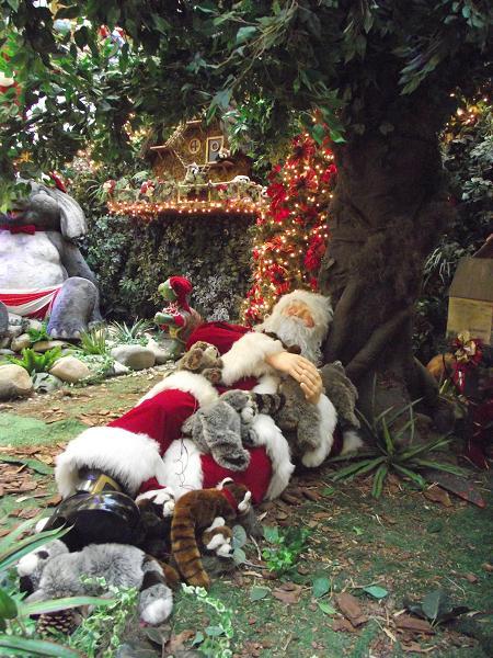 decoração de natal do shopping iguatemi porto alegre