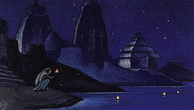 Nicholas Roerich: 'Lights On The Ganges'