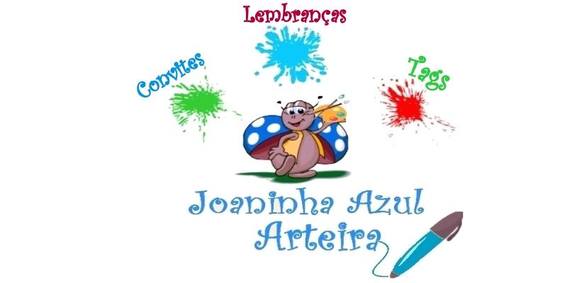 Joaninha Azul Arteira